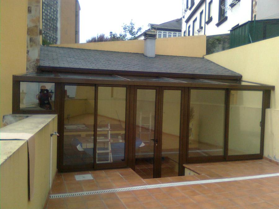 Carpinter a de aluminio ntv nuevas tecnolog as de la for Cierres de aluminio para terrazas